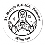 St Mary's RCVA Primary, Wingate logo